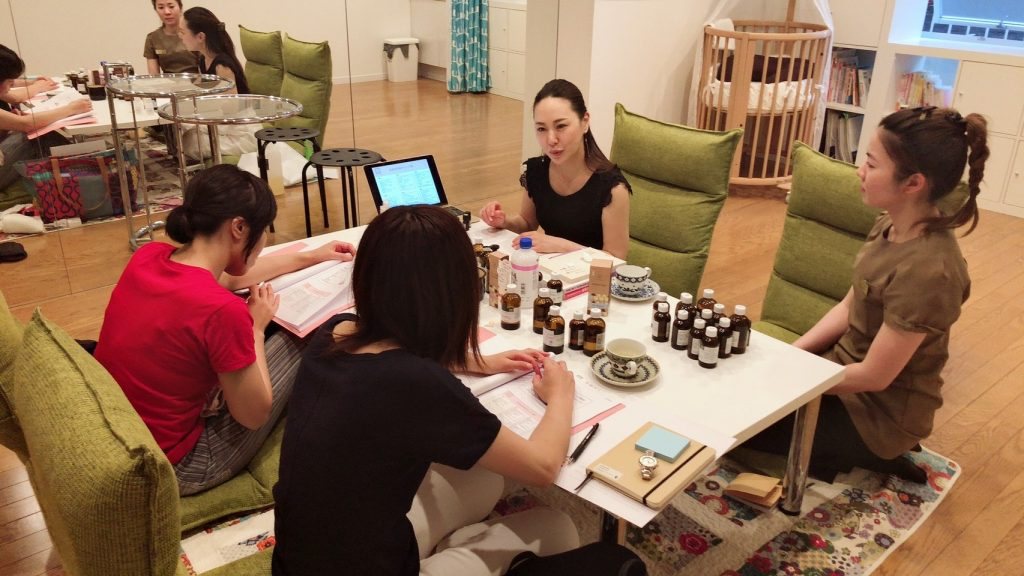 第5期漢方アロマセラピー基礎クラス③
